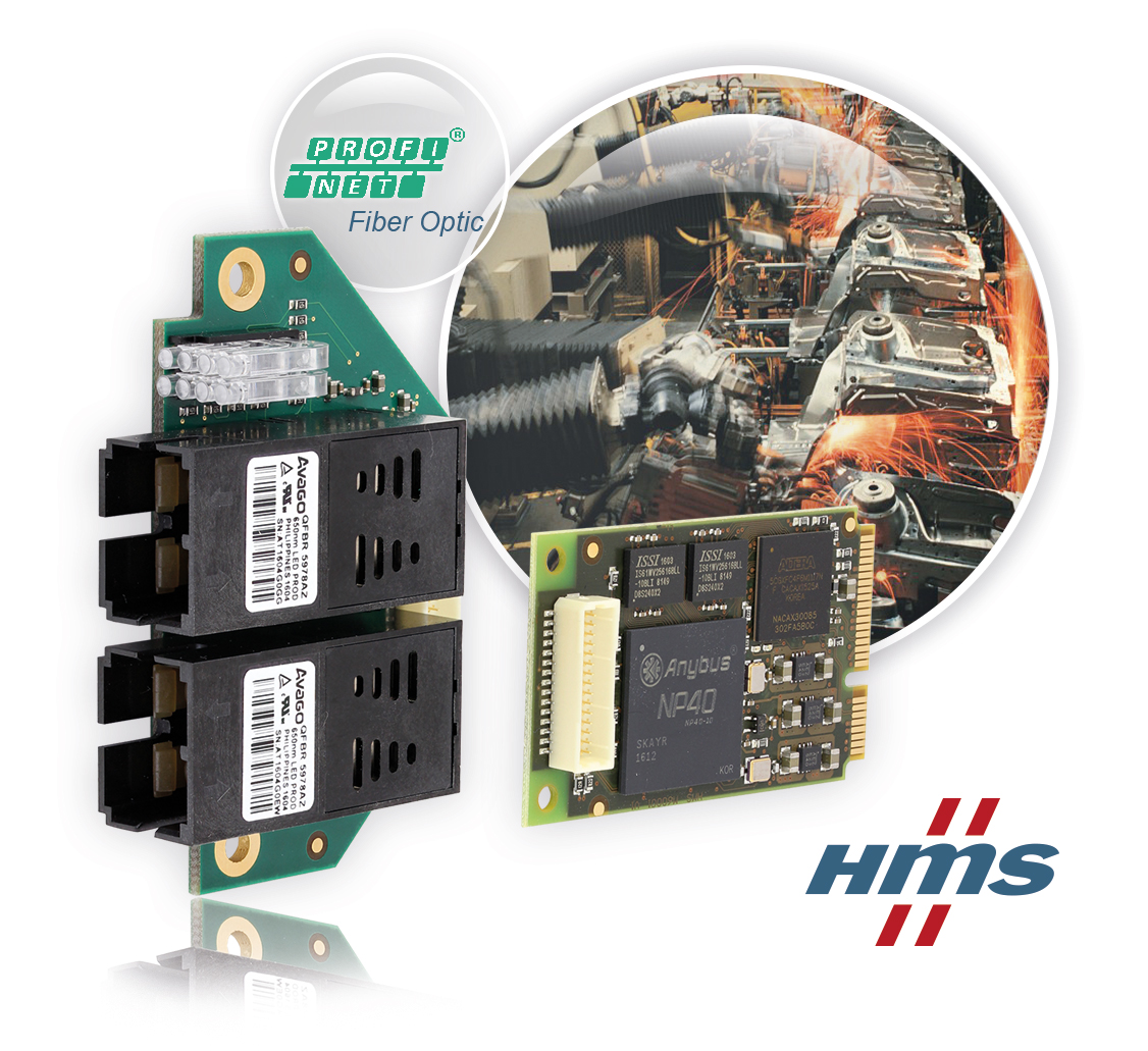 IXXAT INpact for Profinet Fiber Optic