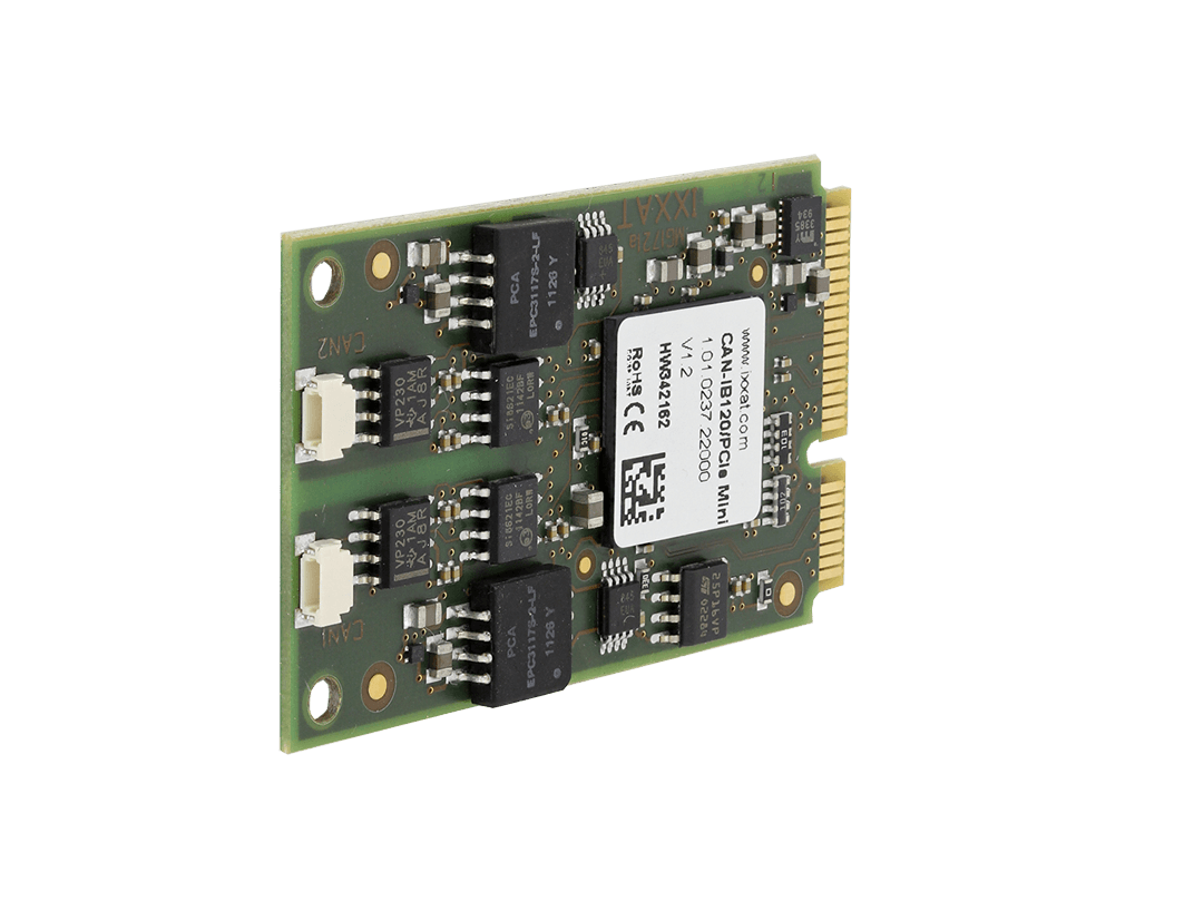 Interfaces - CAN-IB120 PCIe Mini